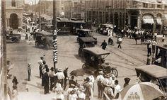 Model T Ford Forum: Old Photo - Winfield Kansas Brass Era Street Scene