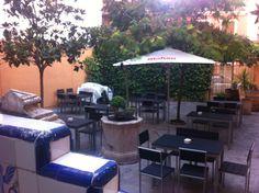 El Sitio Gastrobar en Yecla, Murcia Murcia, Four Square, Outdoor Decor, Home Decor, Hotels, Restaurants, Function Hall, Wine Cellars, Succulents