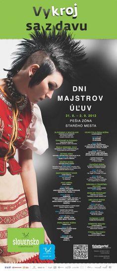 Dni majstrov ÚĽUV 2012, 31.8. - 2.9.2012, Bratislava