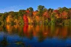 wisconsin fall mirror lake | by thomassylthe - Mirror Lake State Park, Fall in Wisconsin Dells
