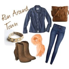 """Run Around Town"" by angiebailey13 on Polyvore"
