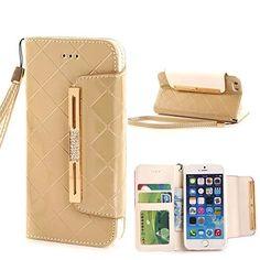 "Bekijk alle stijlvolle iPhone hoesjes - #leather iphone cases 4 | iPhone 6S Case,iPhone 6S,Case for iPhone 6S,iPhone 6S Leather Case,Nakeey Luxury Wallet Flip Leather Case Cover for iPhone 6S 4.7 inch (Golden), <a href=""http://www.amazon.com/dp/B0140NRPTQ/ref=cm_sw_r_pi_awdm_M50cwb129XSZS"" rel=""nofollow"" target=""_blank"">www.amazon.com/...</a> - http://lereniPhone5hoesjes.nl"
