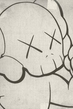 The newest form of art I like is Kaws. Brian Donnelly is the designer but… Kaws Iphone Wallpaper, Hype Wallpaper, Pop Art Wallpaper, Iphone Wallpapers, Art Pop, Art Deco Font, Trill Art, Graffiti Painting, Cartoon Painting