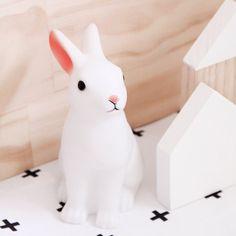 DOTCOM GIFTSHOP rabbit night light #dotcomgiftshop   ph. via #blondeandbone