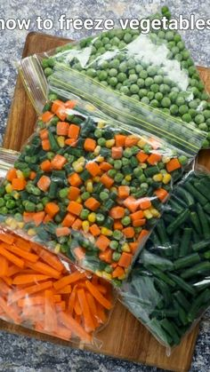 how to freeze vegetables | frozen peas, freezing green beans, freezing carrots, frozen mixed vegetables with detailed photo and video recipe. an easy and simple diy video recipe on how to store and make frozen vegetables at home. the video includes a simple technique to freeze veggies like carrot, green beans, green peas and the all-purpose mixed vegetables. these can be easily done within minutes and frozen with a shelf life of more than 6 plus months for day to day and cooking. Freezing Carrots, Freezing Vegetables, Frozen Vegetables, Mixed Vegetables, Veggies, How To Freeze Carrots, Pakora Recipes, Paneer Recipes, Veg Recipes