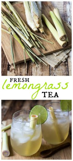 Addictive Fresh Lemongrass Tea