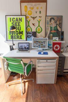 Paula & Paul's Lively, London Home and Studio