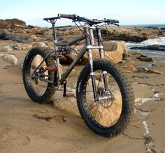 Carver Trans-Fat fully suspended fat bike