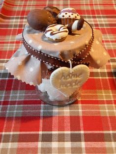 Clay Jar, Kawaii Crafts, Play Clay, Decoden, Wax Melts, Mason Jars, Polymer Clay, Projects To Try, Valentines