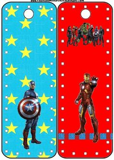 Avengers Free Party Printables, Backgrounds and Images.