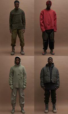 Fashion Week de New York, les looks homme du défilé Yeezy Season 3