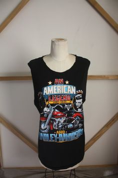 Vintage James Dean Harley Davidnson Cut-Off- from my bffs store...CHECK IT OUT kthanks.