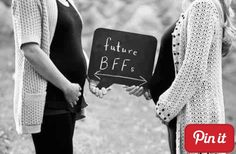 Best friend pregnancy picture!