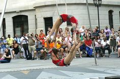 favorite new act - hoop duo at City Hall Presents by Philadelphia School of Circus Arts. Circus Activities, Aerial Acrobatics, Circus Art, The Other Side, Philadelphia, Hoop, Acting, Fashion Photography, Presents