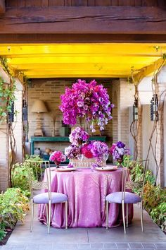 Beautiful Outdoor Tablescapes   Calligraphy by Jennifer