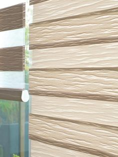 Made to Measure Light brown Duplex Blinds from Bolton Blinds