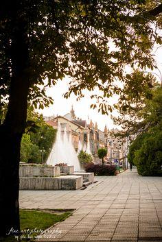 Oradea, Romania, a beautiful city, full of history. Sidewalk, City, Photography, Beautiful, Romania, Park, Photograph, Side Walkway, Fotografie