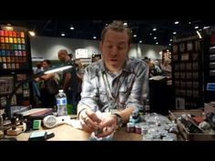 Summer 2013 CHA Ranger Distressed Glitter by Tim Holtz - YouTube