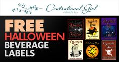 Are you an avid party planner? If you are, then I'm sure you love getting some fun, occasion-specific beverage labels for your bottles! Get some FREE Halloween Beverage Labels from Centsational Girl! Halloween Drinks, Halloween Fun, Halloween Decorations, Samhain, Diy Costumes, Hallows Eve, Some Fun, Free Printables, Beverages