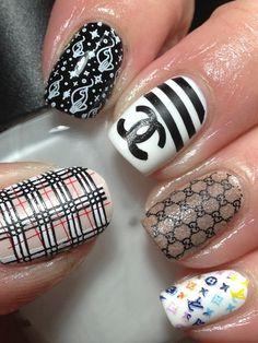 Canadian Nail Fanatic: Digital Dozen; Fashion, Day 5