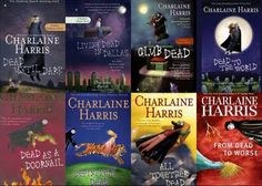 Sookie Stackhouse novels aka Southern Vampire Series aka the books True Blood is based off of.