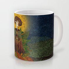 mother earth Mug by Viviana González - $16.00