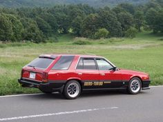 "radracerblog: "" Nissan Skyline R30 Wagon RS-Turbo """