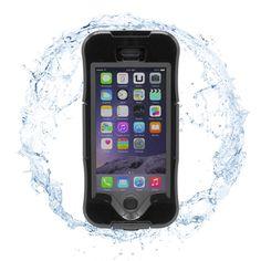 FUNDA WATERPROOF PARA IPHONE 6 NEGRAPodrás hacer las mejores fotos y vídeos bajo el agua, en el mar o en la piscina, ya que la funda permite el uso de la pantalla táctil gracias a su membrana de silicona de última generación. También hace posible responder llamadas, pudiendo escuchar y ser escuchado. Permite sumergir tu iphone a un metro durante al menos 30 minutos.  Permite el uso de TouchId (lector de huella) sin retirar la funda.