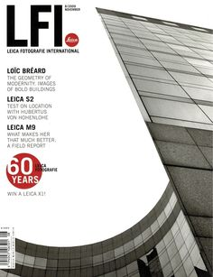 Leica LFI Magazine 8 2009 S2 M9 Camera Test Report 60 Year Anniversary