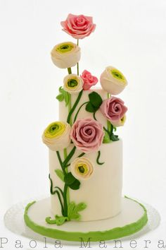 Spring Wind - Cake by Paola Manera- Penny Sue - CakesDecor