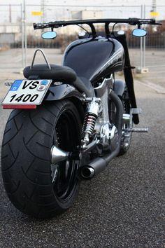 Custom Intruder bobber Motorcycle Wheels, Bobber Motorcycle, Bobber Chopper, Custom Street Bikes, Custom Bikes, Davidson Bike, Harley Davidson Motorcycles, Harley Davidson Night Rod, Bike Pic