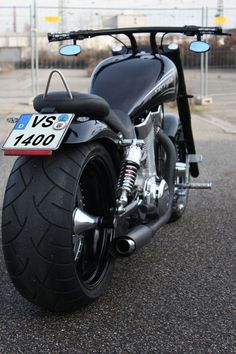 Custom Intruder bobber