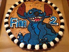 Stitch cookie cake. Lilo and stitch. Decorated by my amazing husband.