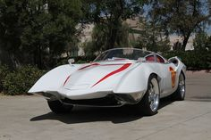 Mach 5 from Speed Racer built by Mark Towle on a Corvette C4 chassis.
