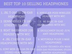 Top best 10 Selling headphones