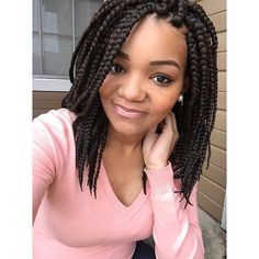 Bob box braids. I want !