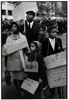 """""""Ruby Dee, Ossie Davis, and their children protest at a CORE (Congress of Racial Equality) peace demonstration, NYC, 1962. Photo by Bruce Davidson."""""""