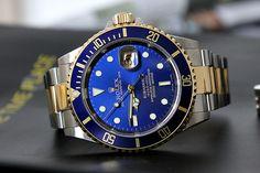 Rolex Submariner. man im killing this