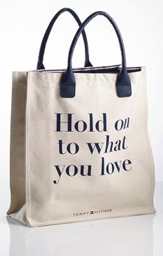 Tommy Hilfiger Limited Edition Bag - Hold On To What You Love