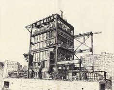 Marion Chombart de Lauwe - CPCU factory in Paris