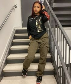 Girls Fall Outfits, Cute Swag Outfits, Tomboy Outfits, Tomboy Fashion, Dope Outfits, Retro Outfits, Streetwear Fashion, Chic Outfits, Fashion Outfits