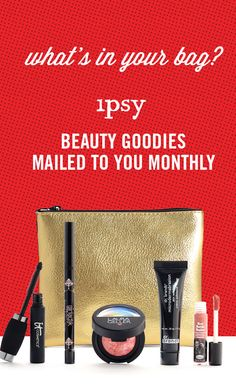 Monthly Beauty Subscription -- If you're looking to try new makeup, try ipsy! You get 4-5 personalized beauty products each month. Delivered to your door. Watch Makeup Tutorials · Product Giveaways · Win Free Products · Save up to 70% off on latest products · Join over 1MM+ subscribers. Subscribe now!