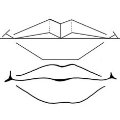 Step finished square howtodrawlips Drawing Mouths & Lips How to Draw Mouths Step by Step Lesson