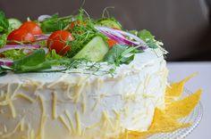 Texmex kanavoileipäkakku Tex Mex, Camembert Cheese, Eat, Summer, Food, Summer Time, Essen, Meals, Yemek