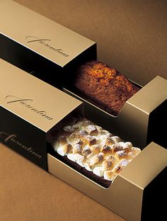 Packaging ideas Beste Kekse Verpackung Box Desserts Ideen However, the square foo Cake Boxes Packaging, Brownie Packaging, Baking Packaging, Bread Packaging, Dessert Packaging, Chocolate Packaging, Food Packaging Design, Coffee Packaging, Bottle Packaging