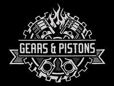www.gearsandpistons.com logo animated by Rob Zwiercan.
