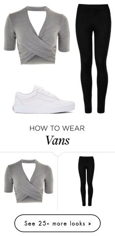 """Casual"" by diana2631 on Polyvore featuring Topshop, Wolford and Vans"