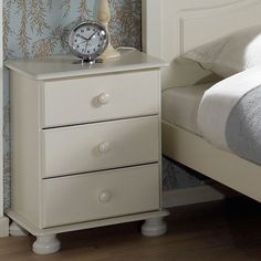 white bedside table - Google Search