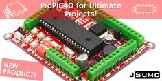 Our superior controller for PIC based robot projects