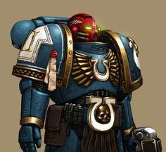 Veteran sgt.Ultramarine by FonteArt